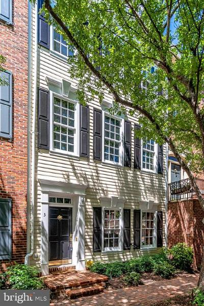Alexandria Townhouse For Sale: 3 Franklin Street
