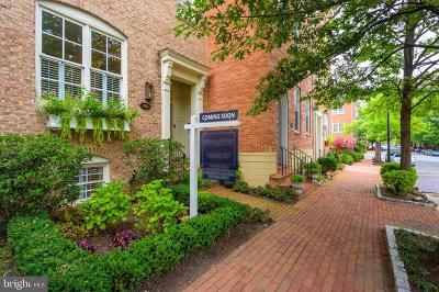 Alexandria City, Arlington County Townhouse For Sale: 530 N Pitt Street