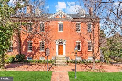 Alexandria Single Family Home For Sale: 607 Oronoco Street