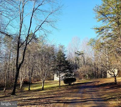 Culpeper County Single Family Home For Sale: 11066 Old Stillhouse Road