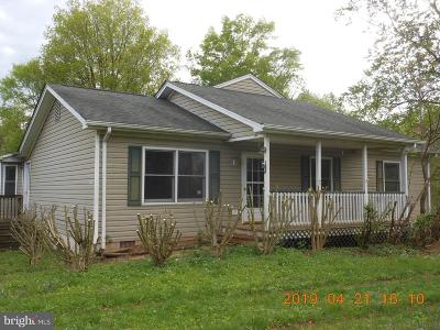 Culpeper County Single Family Home For Sale: 16714 Bleak Hill Road