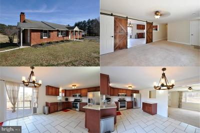Culpeper County Single Family Home Active Under Contract: 10731 Eggbornsville Road