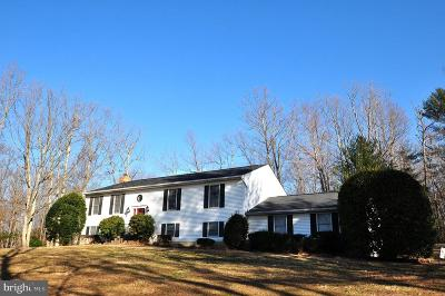 Culpeper County Single Family Home For Sale: 10452 Obannons Mill Road
