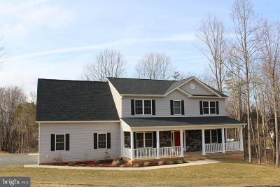 Culpeper Single Family Home For Sale: Lot 3 Turner Lane