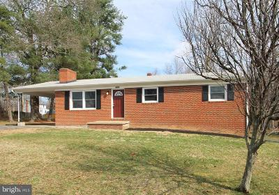 Culpeper County Single Family Home For Sale: 7083 Oak Drive