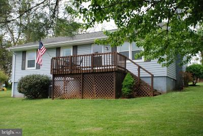 Culpeper County Single Family Home For Sale: 13123 Major Brown Drive