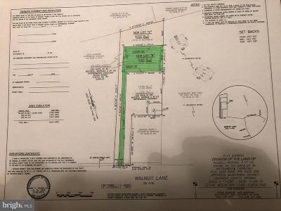 Culpeper County Residential Lots & Land For Sale: Walnut Lane