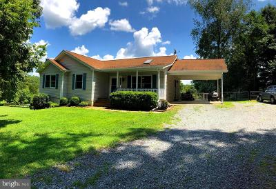 Culpeper County Single Family Home For Sale: 6329 Riverbend Lane