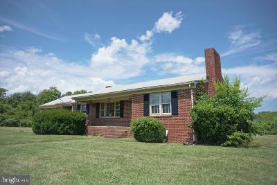 Culpeper Single Family Home For Sale: 15073 Germanna Highway