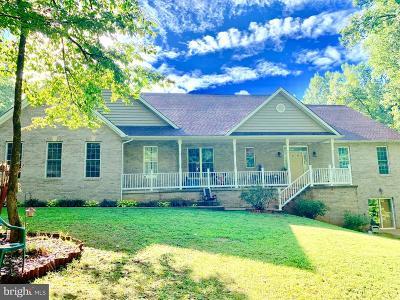 Culpeper County Single Family Home For Sale: 17006 Black Oak Drive
