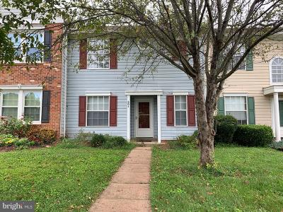 Culpeper County Townhouse For Sale: 604 Bridlewood Drive