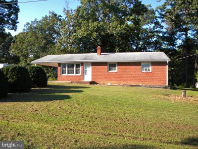 Culpeper County Single Family Home For Sale: 7069 Oak