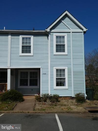 Culpeper Townhouse For Sale: 2000 Birch