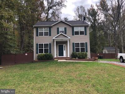 Caroline County Single Family Home For Sale: 11580 Stonewall Jackson Road