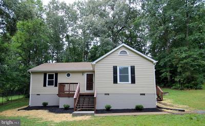 Caroline County Single Family Home For Sale: 501 Freedom Drive