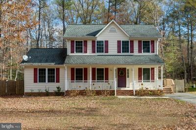 Ruther Glen Single Family Home Under Contract: 124 Patrick Henry Drive