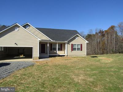 Woodford Single Family Home For Sale: 15230 Countyline Church Road