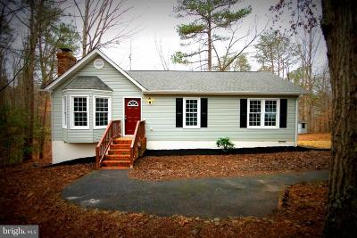 Ruther Glen Single Family Home For Sale: 297 Land Or Drive