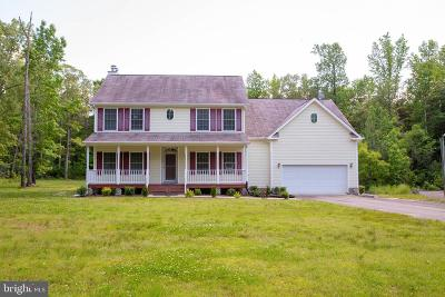 Ruther Glen Single Family Home For Sale: 26054 Zion Road