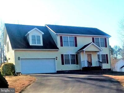 Caroline County Single Family Home For Sale: 6144 Saddlehorn Street