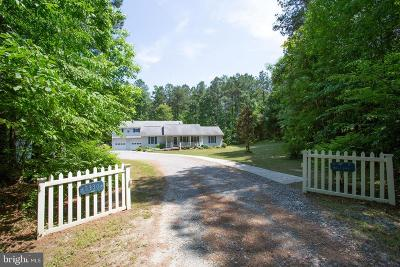 Caroline County Single Family Home For Sale: 5330 C C C Road