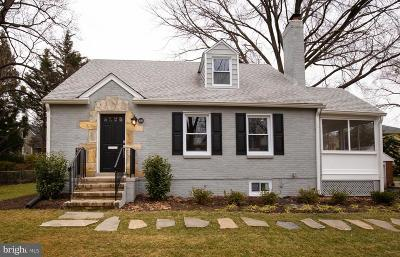 Falls Church Single Family Home For Sale: 1010 Parker Street