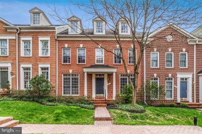 Annandale, Falls Church Townhouse For Sale: 411 Park Avenue