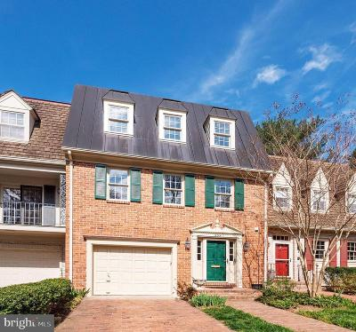 Falls Church Townhouse For Sale: 304 Wrens Way