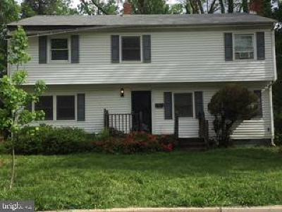 Falls Church Single Family Home Under Contract: 502 Randolph Street