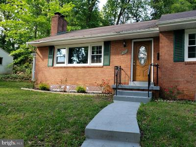 Falls Church Single Family Home For Sale: 709 E Broad Street