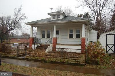 Fredericksburg VA Single Family Home For Sale: $142,000