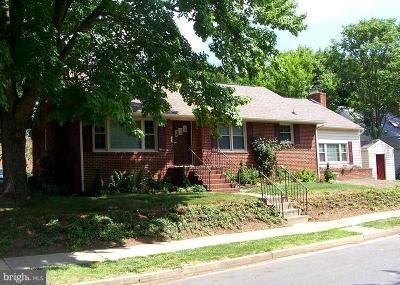 Fredericksburg Rental For Rent: 1321 Rowe Street