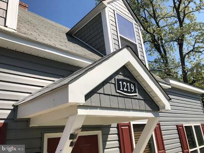 Fredericksburg City, Stafford County Single Family Home For Sale: 1219 Payne Street