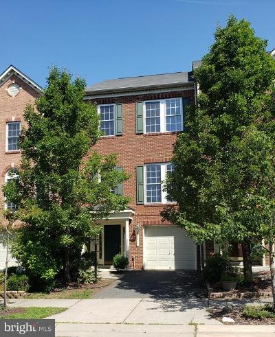 Fredericksburg Townhouse For Sale: 1017 Hotchkiss Place