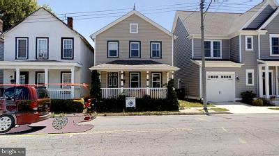 Fredericksburg City Single Family Home For Sale: 562 Lafayette Boulevard