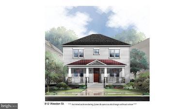 Fredericksburg City Single Family Home For Sale: 812 Weedon Street