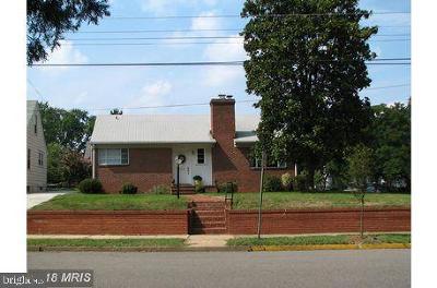 Fredericksburg City Single Family Home For Sale: 1319 Hanover Street