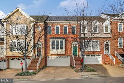 Fairfax Townhouse For Sale: 10432 Breckinridge Lane