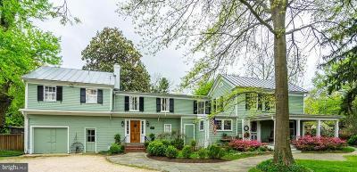 Fairfax Single Family Home For Sale: 3701 Chain Bridge Road