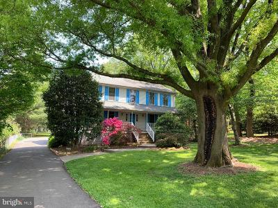 Fairfax, Fairfax Station Single Family Home For Sale: 4007 Burke Station Road