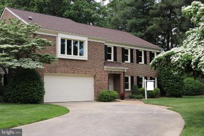 Fairfax Townhouse For Sale: 3924 Rust Hill Place