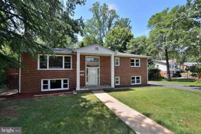 Fairfax Single Family Home For Sale: 10609 Center Street