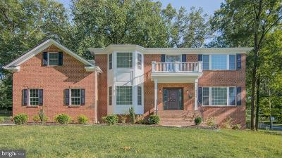 Fairfax Single Family Home For Sale: 9711 Ashby Road