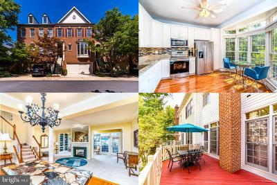 Fairfax Townhouse For Sale: 4170 Governor Yeardley Lane