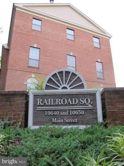 Fairfax Condo For Sale: 10650 Main Street #102