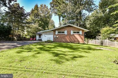 Fairfax Single Family Home For Sale: 3405 Andover Drive