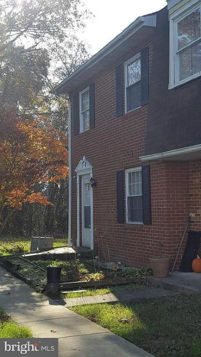 Fauquier County Townhouse For Sale: 8607 Colston Court
