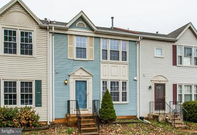 Warrenton Townhouse For Sale: 752 Cherry Tree Lane