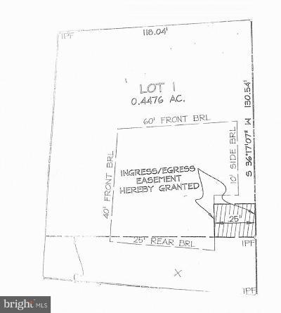 Warren Residential Lots & Land For Sale: Lot 1 Culpeper Street