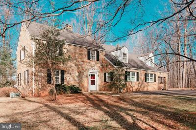 Warrenton Single Family Home For Sale: 6087 Dumfries Road
